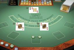 Great Microgaming Blackjack options at Wild Jack Casino including Microgaming GOLD SERIES - this one is Double Exposure Blackjack - plys for fun or for real money at 32Red today.