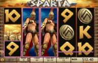Sparta, a new 30 line video slot with bonus game